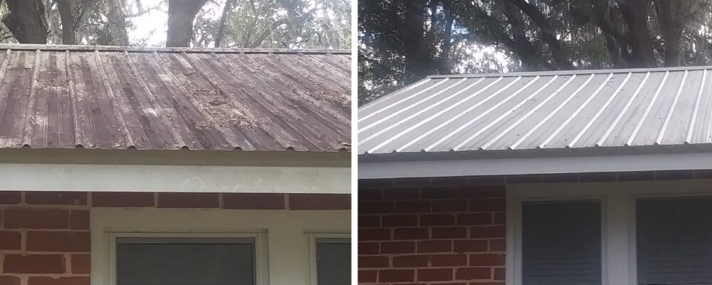 Metal Roof Cleaning Gainesville Fl